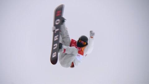 Shaun White s'offre l'or en halfpipe lors de son dernier run | Snowboard