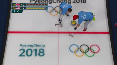 GBR v USA (Poule) - Curling Hommes | Replay de PyeongChang