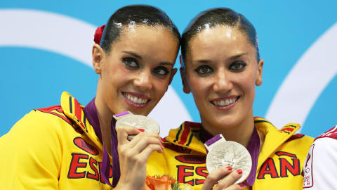 Carbonell and Fuentes get silver in Synchronized Swimming | London 2012