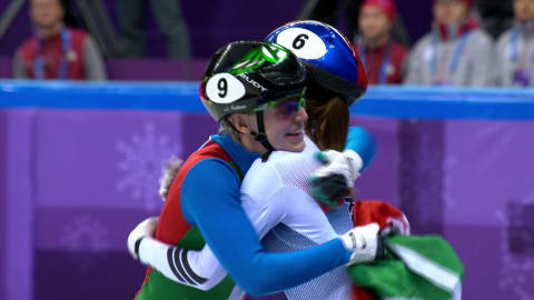 500 м, финалы, женщины - шорт-трек | Пхенчхан-2018