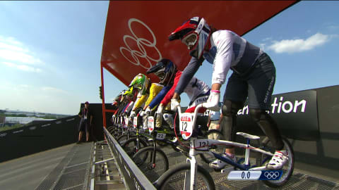 Top 5 spannenste BMX-Rennen der Olympischen Spiele