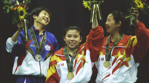 Atlanta 1996 - China wins all four golds in table tennis