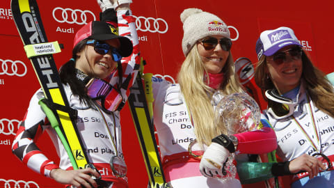 Maze thanks Vonn for bringing Hollywood to skiing