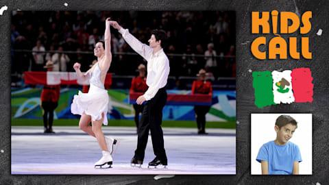Nuestros pequeños comentaristas se emocionan con esta actuación sobre hielo