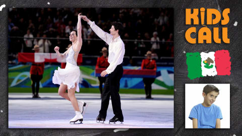 Kids call Tessa Virtue & Scott Moir's flawless ice dance routine from 2010