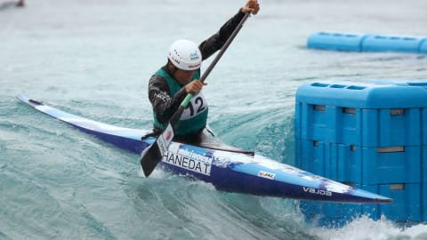 THE RESULT OF READY STEADY TOKYO - CANOE SLALOM