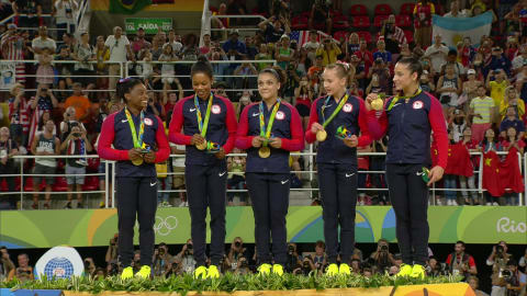 Dominant USA win Women's Team Artistic Gymnastics gold