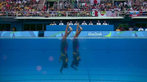 Natation Synchronisée: Duo Libre | Replay de Rio 2016