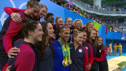 USA win a second gold in Women's Water Polo