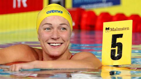 【アスリートの原点】サラ・ショーストレム:水泳デビューは9歳。14歳の時には100メートルバタフライでヨーロッパを制覇