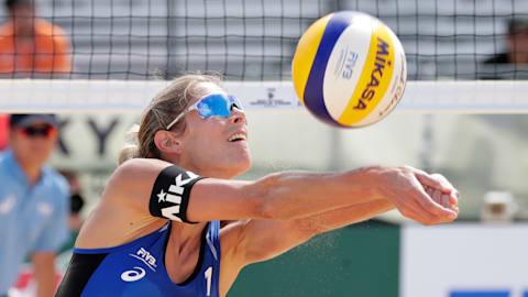 Poule (F) | Tournoi de Qualification Olympique de Beach-Volley