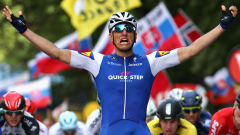 Kittel claims 10th career Tour stage win