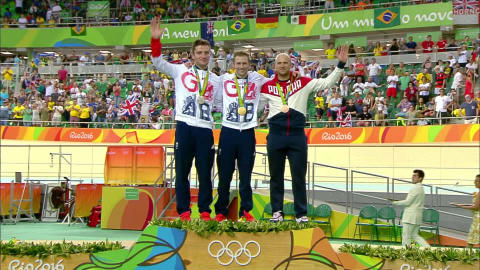 Men's Track Cycling Sprint | Rio 2016 Replays