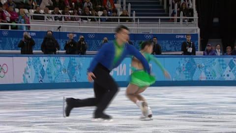 Peng Cheng / Zhang Hao (CHN)| Pairs Figure Skating - Sochi 2014 Replays