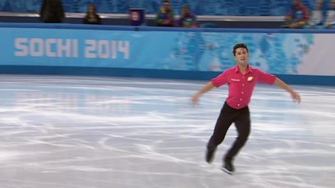Men's singles short program - Figure Skating | Sochi 2014 Replays