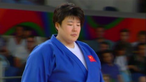 Judo @ Rio 2016 - Donne oltre 78Kg Finale Bronzo 1