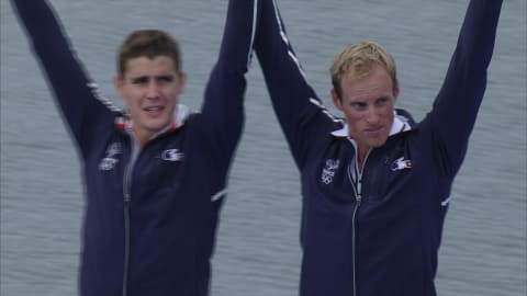 France win tight Men's Lightweight Double Skulls final