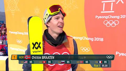 Braaten ganha Ouro com performance no Slopestyle   Esqui Estilo Livre