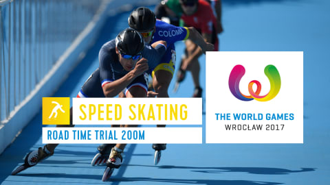 Speed Skating Road - The World Games Wroclaw 2017