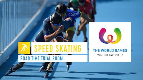 التزلج السريع - الألعاب العالمية في فروتسواف 2018
