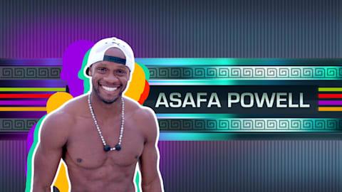 Die Olympioniken - Asafa Powell