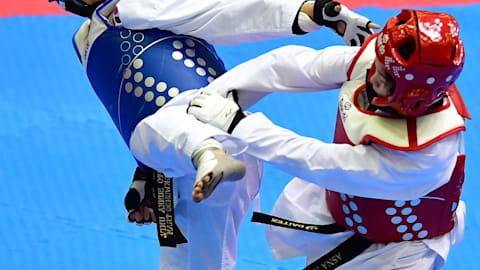 SF +80-87kg, +58-63kg, +49-53kg |Taekwondo - Universiada de Verano - Nápoles