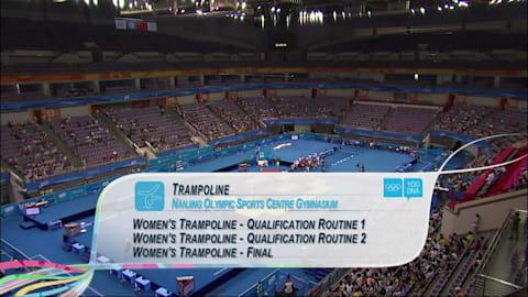 Women's Individual - Trampoline | 2014 YOG Nanjing
