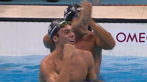 Les Italiens brillent en finale du 1500 m nage libre