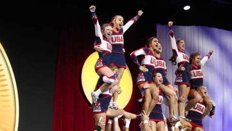 Is U.S.A's cheerleading dominance coming to an end?