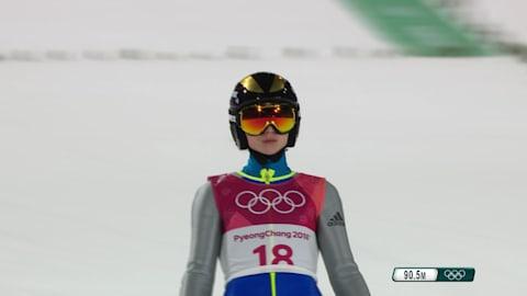 女子ノーマルヒル決勝ラウンド - スキージャンプ | 平昌2018リプレイ