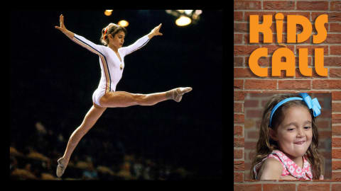 Kids call Nadia Comaneci's perfect 10 from Montreal 1976