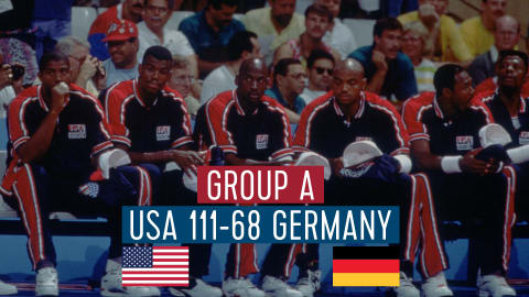 USA vs Allemagne (Groupe A) | Dream Team Barcelone '92