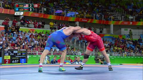 Snyder wins Men's 97kg Freestyle Wrestling gold