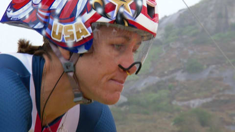 Age no barrier for Time Trial champion Armstrong