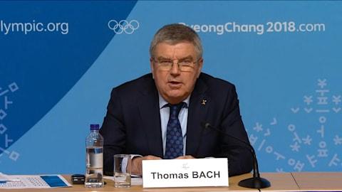 Bach: Der gemeinsame Einmarsch wird ein einzigartiger Moment sein