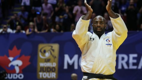 Teddy Riner wins on Montreal comeback but admits it was 'no walk in the park'