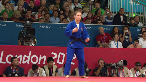 Judo @ London 2012 - Women's 57Kg Bronze medal match 1