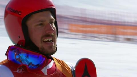 M Giant Slalom, Run 2 (Condensed) - Alpine Skiing | PyeongChang 2018 Replays