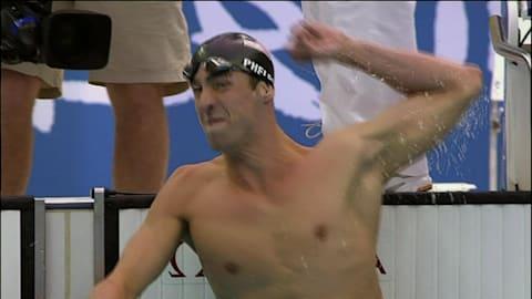 Michael Phelps à 18 ans