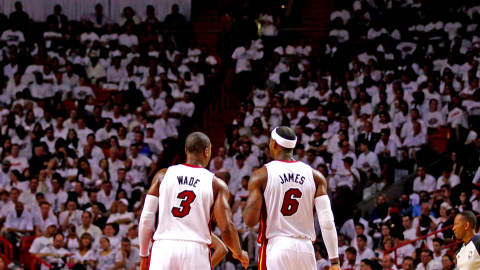 El último baile de Lebron James y Dwyane Wade: el 'All Star Game' de la NBA
