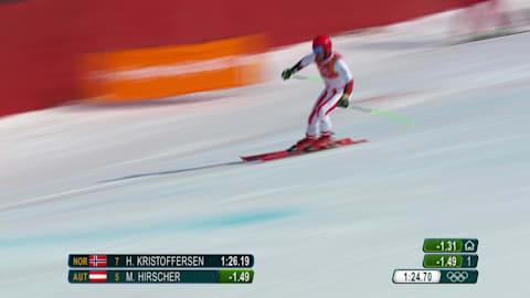 Hirscher dominates Men's Giant Slalom | Alpine Skiing