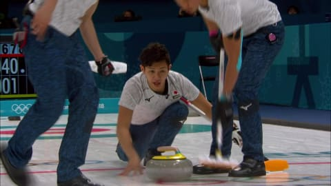 KOR v JPN (Poule) - Curling Hommes   Replay de PyeongChang