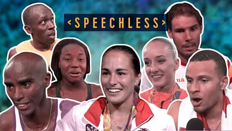 奥运选手歌声如何? | 《Speechless》 feat. 2016年里约奥运会群星