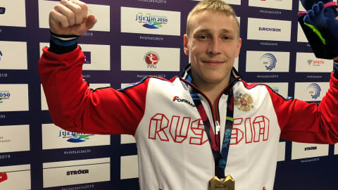 Ablyazin and Nagornyy lead Russian medal haul on final day of European Championships