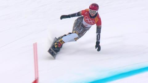 남녀 평행 대회전 예선  - 스노보드 | 평창 2018 다시보기