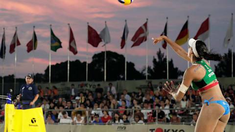 男子和女子决赛   FIVB世界巡回赛 - 罗马
