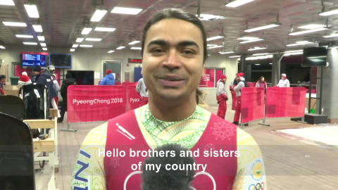 Shiva Keshavan makes a call to his fans in India