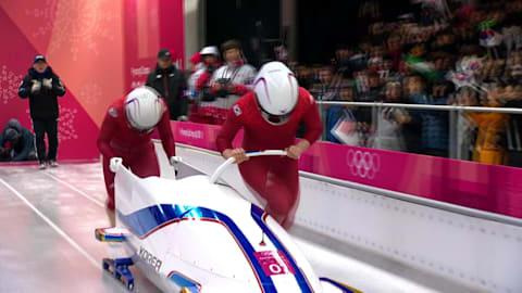 Heat 1 - Two-Woman Bobsleigh | PyeongChang 2018 Replays