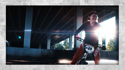 Meet Russia's BMX Olympian who trains in parking lots