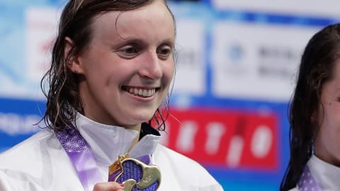 Ledecky opens Pan Pacs with gold (and a rare bronze)